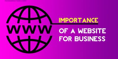 Website importance for a business in 2021